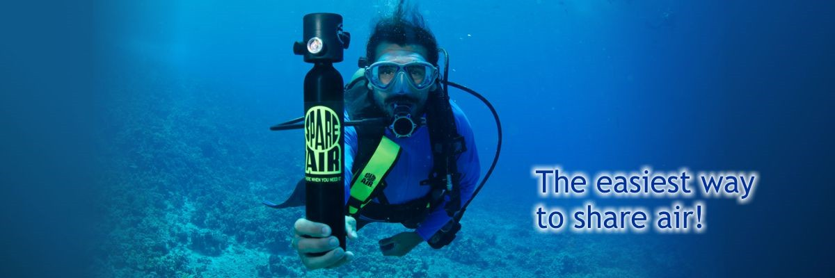 Spare Air The Smallest Redundant Scuba System Available