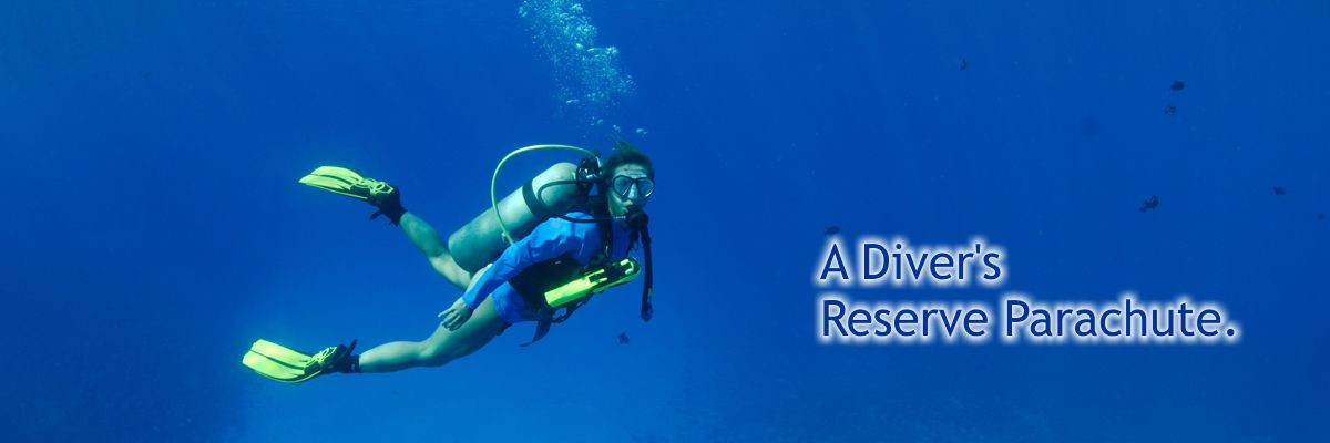 Spare Air - the smallest redundant SCUBA system available