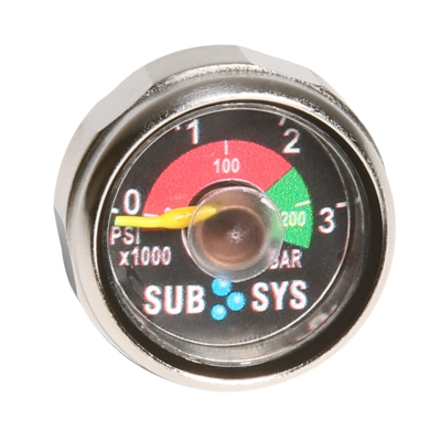 New Spare Air Dial Gauge